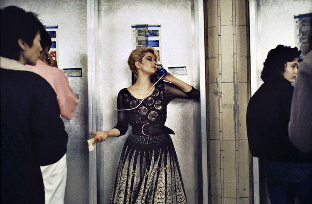Woman on Phone © Bob Mazzer