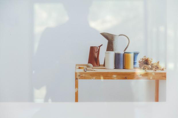 Luigi Ghirri's photo of Morandi's painting objects.