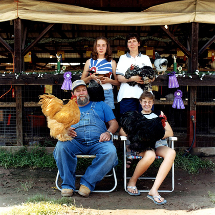 Mr. Mike's Revenge © Dan Nelken, Till the Cows Come Home: County Fair Portraits