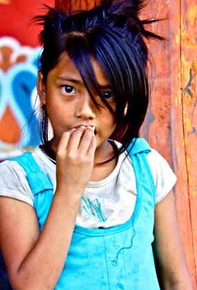 Girl from Bhutan