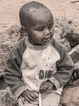 A Refugee Boy in Dadaab