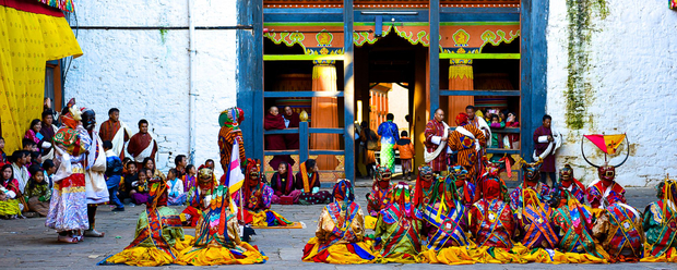 Thimphu Tshechu opening