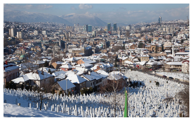 2015 is the 20th anniversary of the finish of the siege of Sarajevo, which marked the beginning of the Bosnian War (1992-1995). During the war, approximately 30,000 Bosnians were massacred by the Serbian Army in the first act of genocide on European soil since the Holocaust.