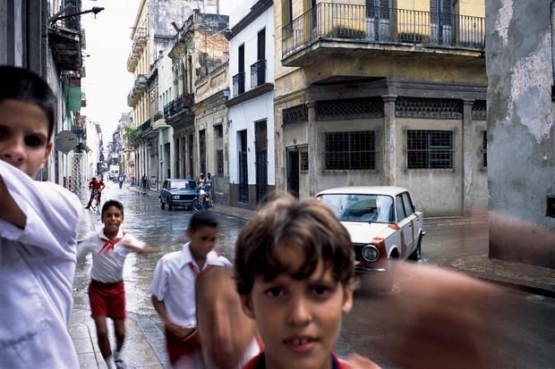 Schoolboys, Old Havana, 1999