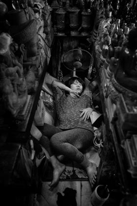 Le marché endormi