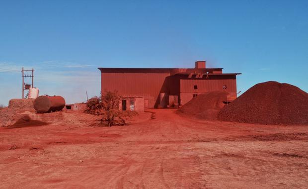 Red ocher Factory