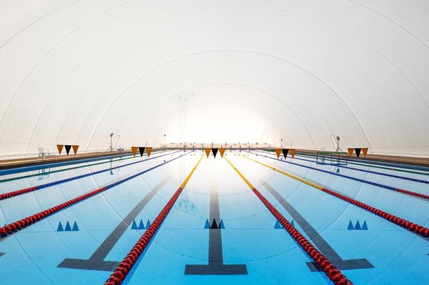 Military School Olimpic Pool, Chile