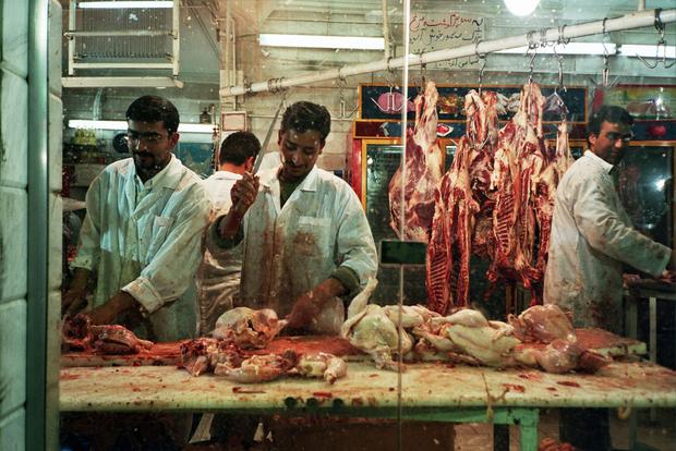 Butcher, Tehran