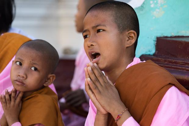 Nuns at prayer