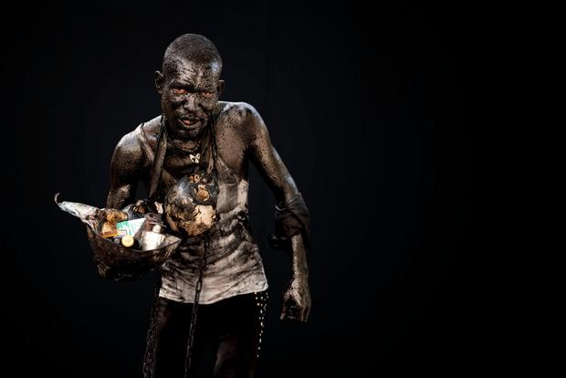 slavery  personification / voodouism
