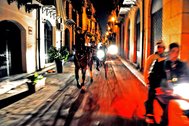 Corsa di Cavalli Clandestina di Palermo