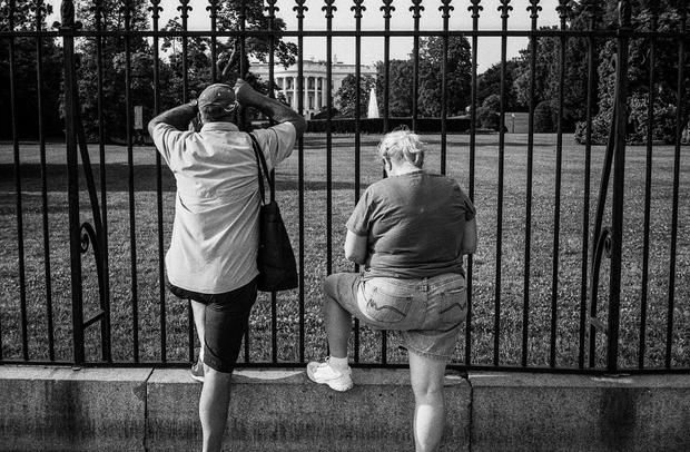 Couple, White House, Washington, DC