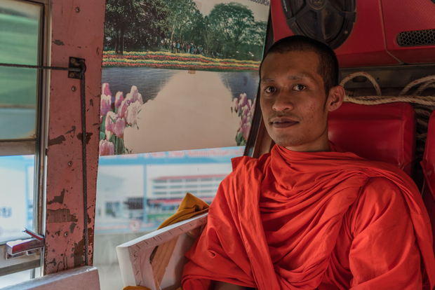 Monk in the Bus