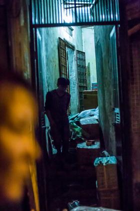 Old Quarter Hanoi at night