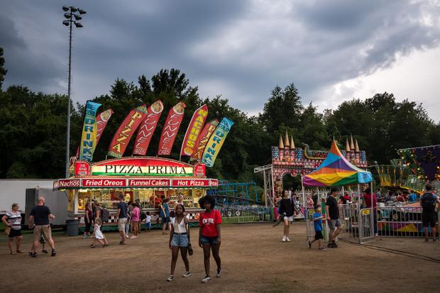 Midway. Arlington County Fair, Virginia