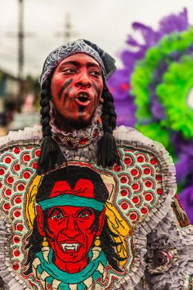 Mardi Gras Indians #1