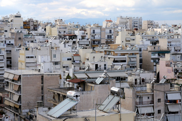 Skyline of Pireas