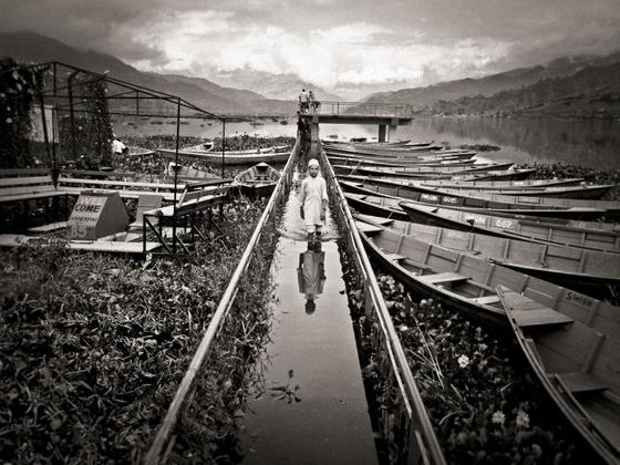 Pokhara high water
