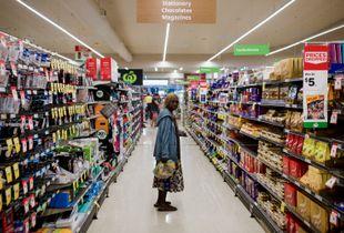 Darwin, Woolworths supermarket.
