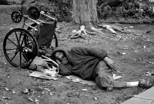 Homeless Man, San Francisco