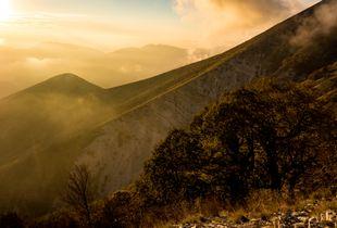 Approaching Albanian Dusk