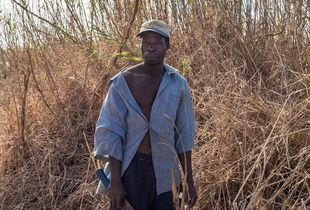 Farmer from the North of Mozambique.
