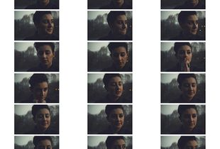I can hear you now - portrait of a process, contact sheet, Turin, Italy
