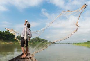 Cham fisherman