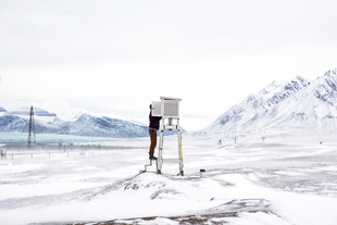 Ny-Ålesund research base. Finalist, LensCulture Exposure Awards 2015.