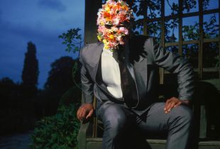 Man With His Head Full of Flowers