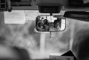 Driver with Passengers - Sai Kung, Hong Kong