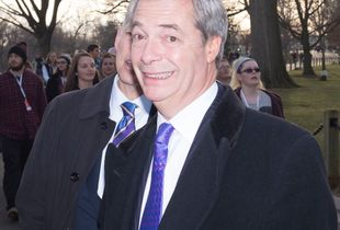 Nigel Farage at Arlington