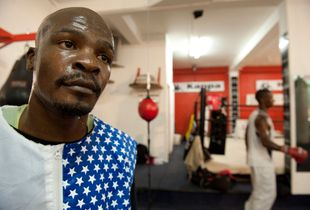 Inner city boxing academy, Johannesburg, South Africa