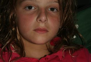 My oldest daughter, age 10