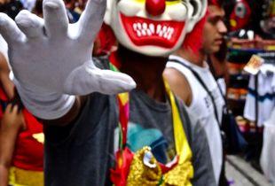 Clown in Rio
