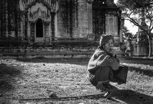 Roadside Myanmar.