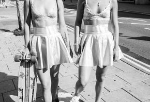 Skater Twins, pride Weekend, Brighton 2017