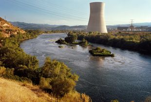 Ascó, Spain, from the series The Most Beautiful Nuclear Power Plants in Europe