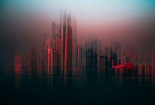 Adu Dabhi Skyline