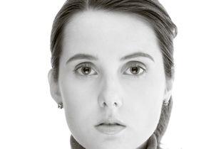Katrin w/ grey turtleneck