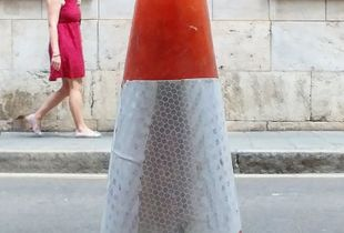 The Cone Man.