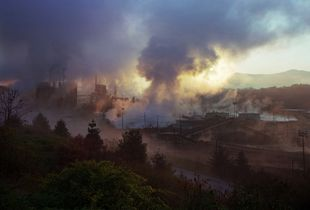 Blue Ridge Paper Mill, Pigeon River, Canton, North Carolina, 2008