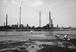Am Rhein, Duisburg-Rheinhausen, 1984