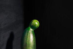 Cucumber with radish