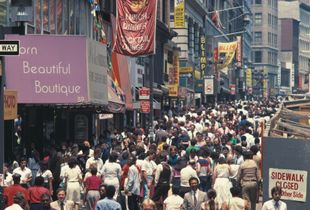 """New York City, 1982, """"Contained and Constrained"""""""