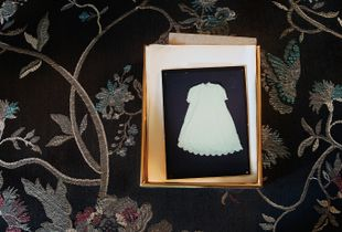 "Christening Dress. From the series ""Ghost Stepping."""