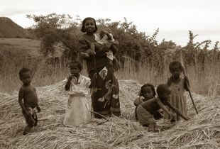 Malagasy Woman and Children