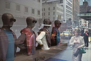 Window Mannequin, New York City, 1982