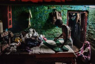 Kolkata, India. Informal Workers.