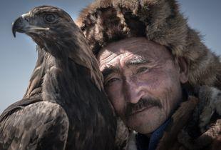 Kazakh Eagle Hunter: Altai Mountains, Mongolia